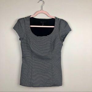 WHBM Striped Blouse